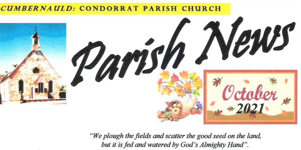 Condorrat Parish Church Magazine - October 2021